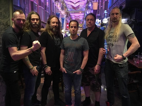 HammerFall with Napalm Records CEO Thomas Caser